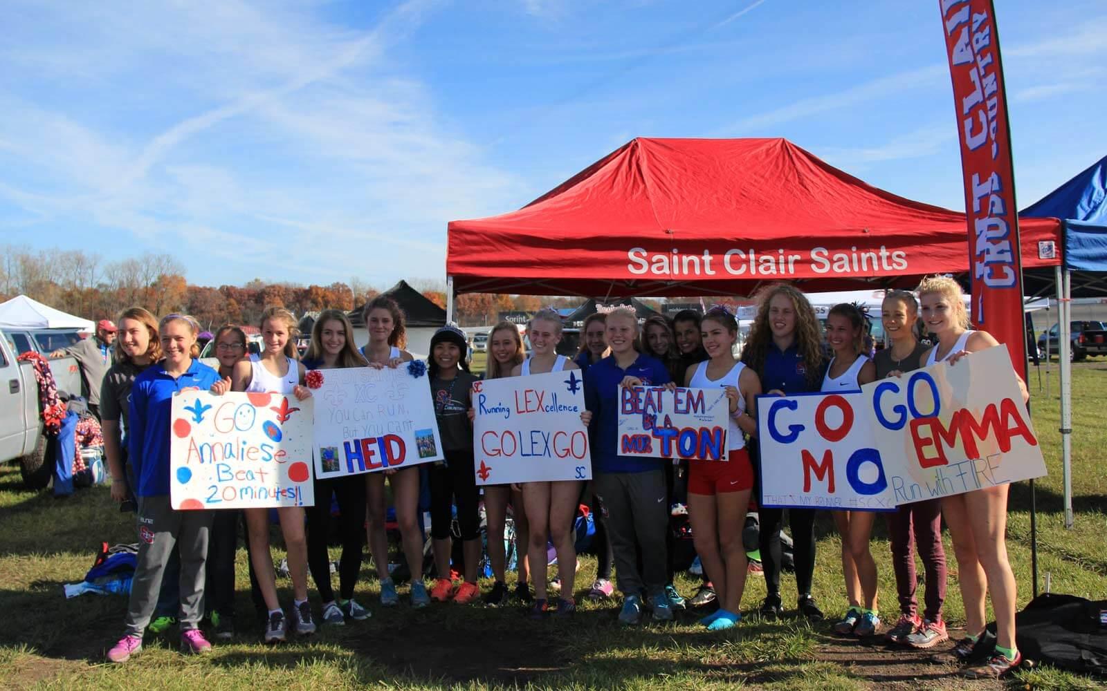 Saint Clair Saints Crosscountry-Team
