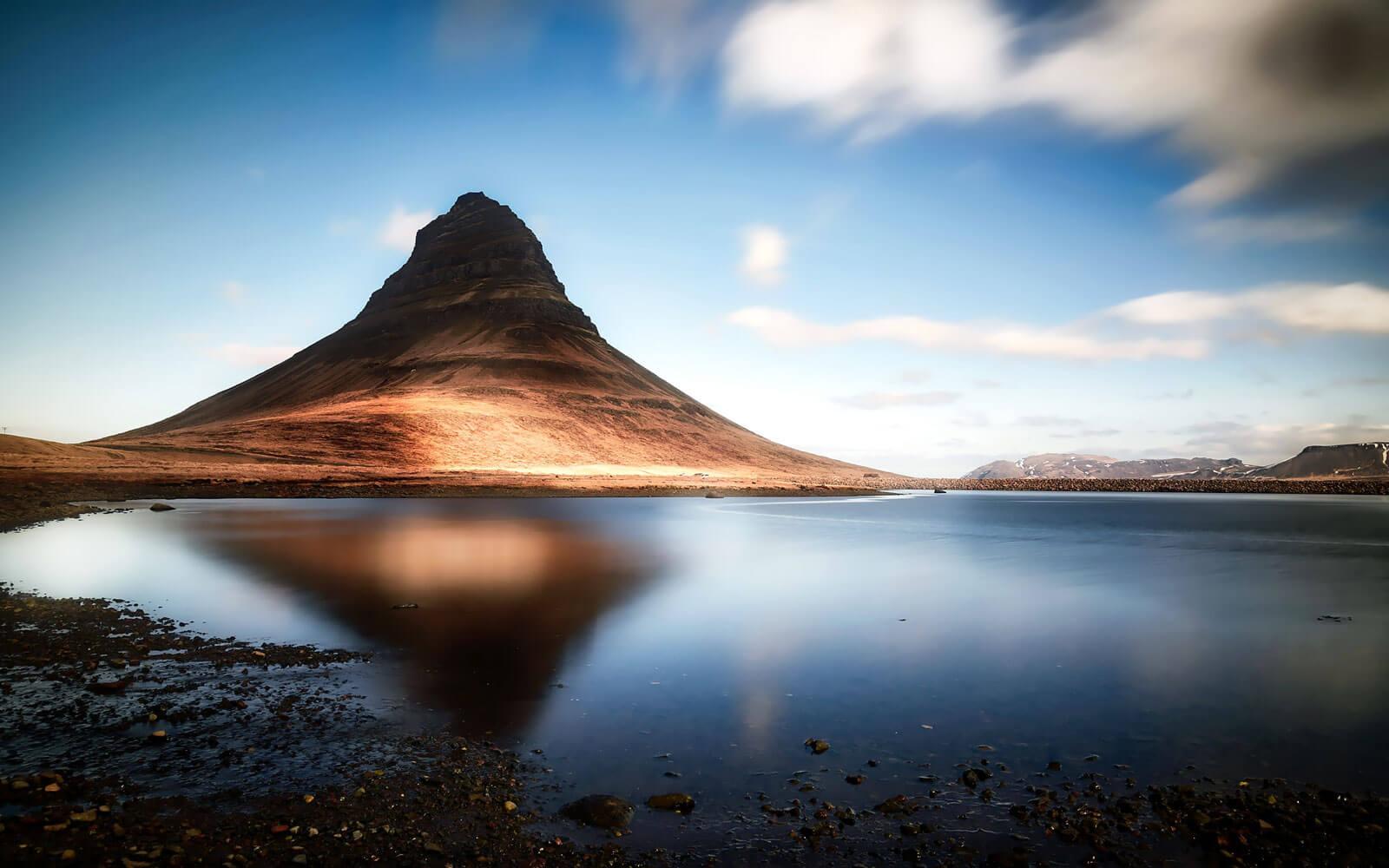 Kirkjufell in Island