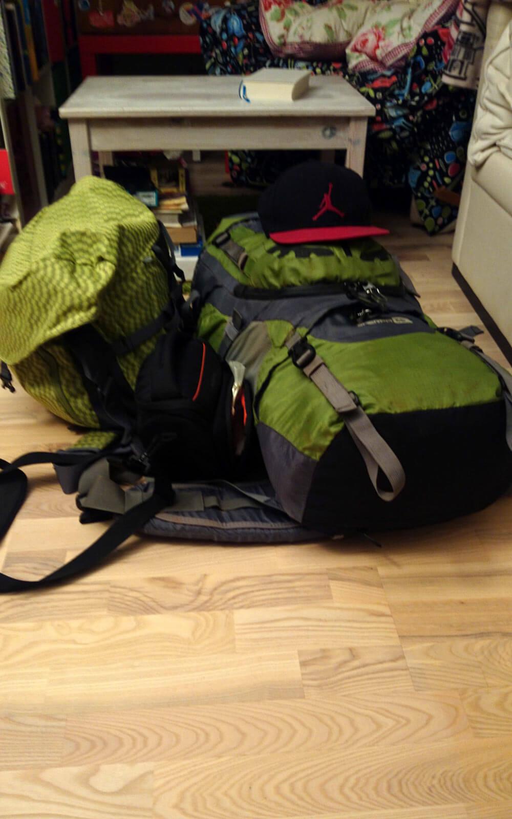 Packen für Island
