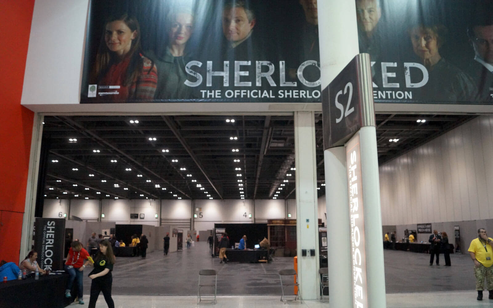 Eingang des Sherlocked-Events in London
