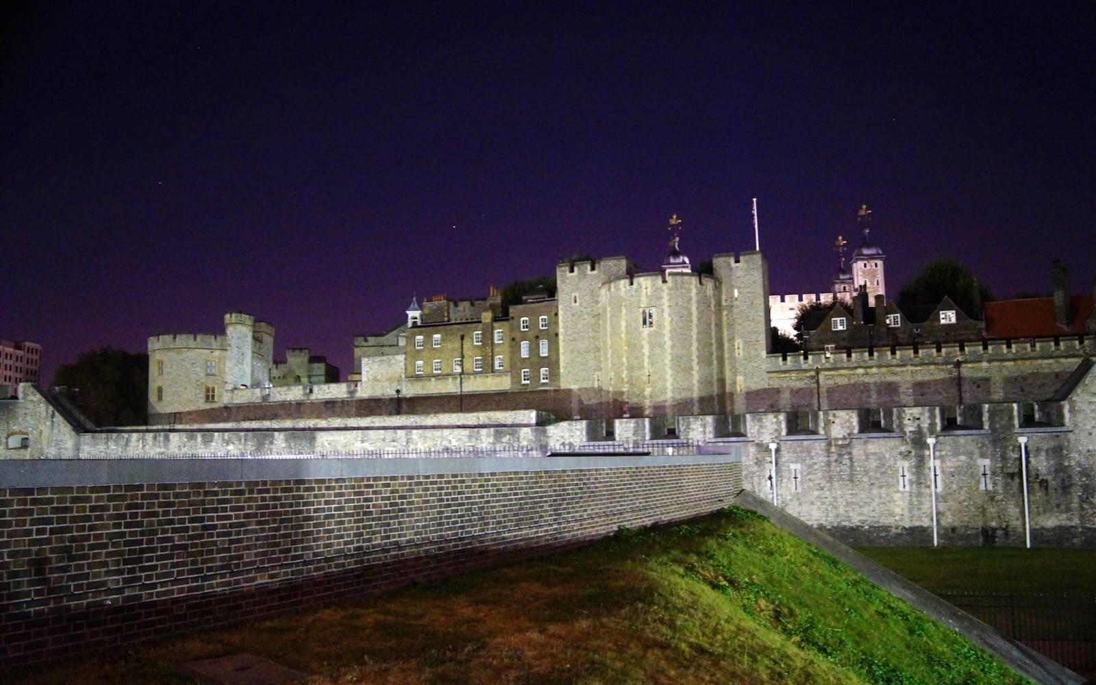 Tower of London bei Nacht