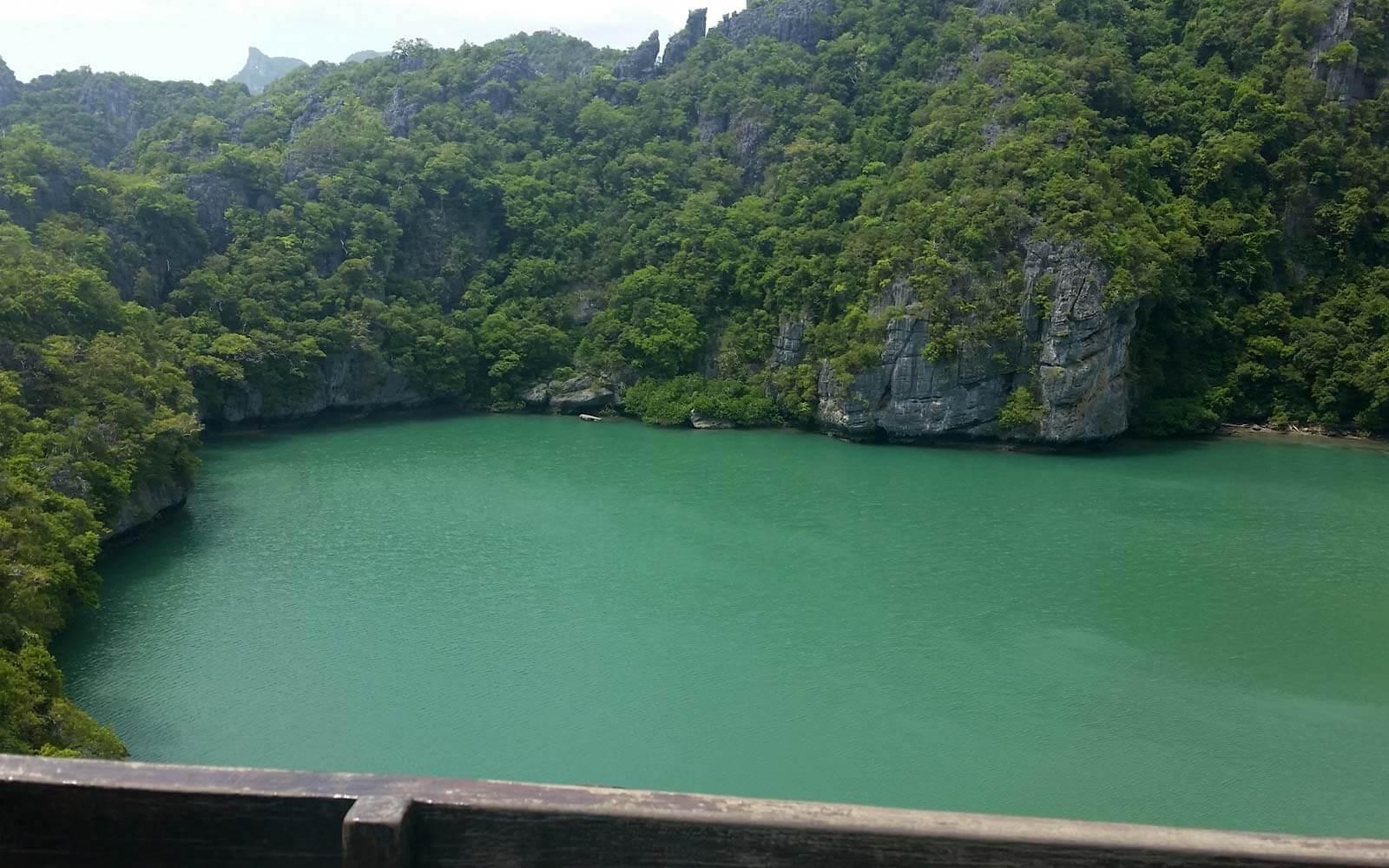 Blue Lagoon im Angthong National Marine Park, Thailand