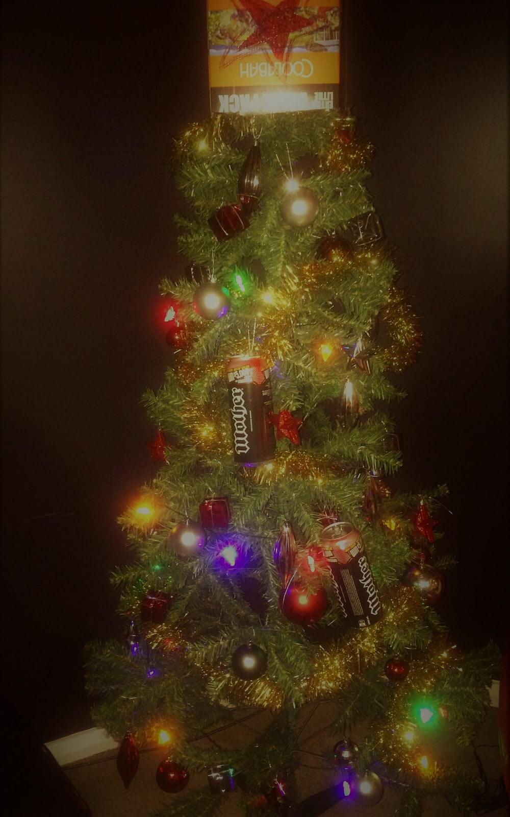 Plastik-Weihnachtsbaum in Australien