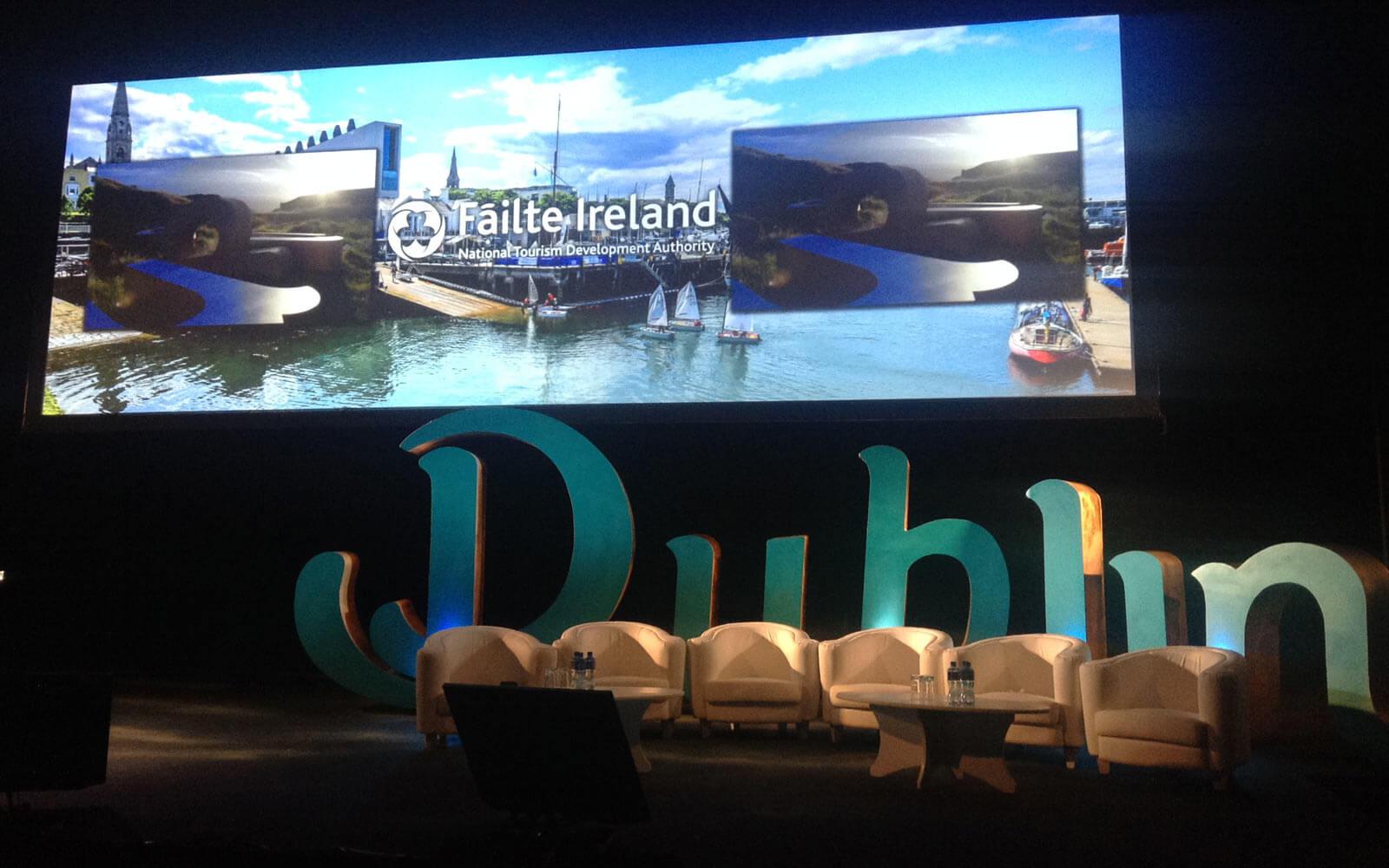 Vortrag einer Tourismusfirma in Irland