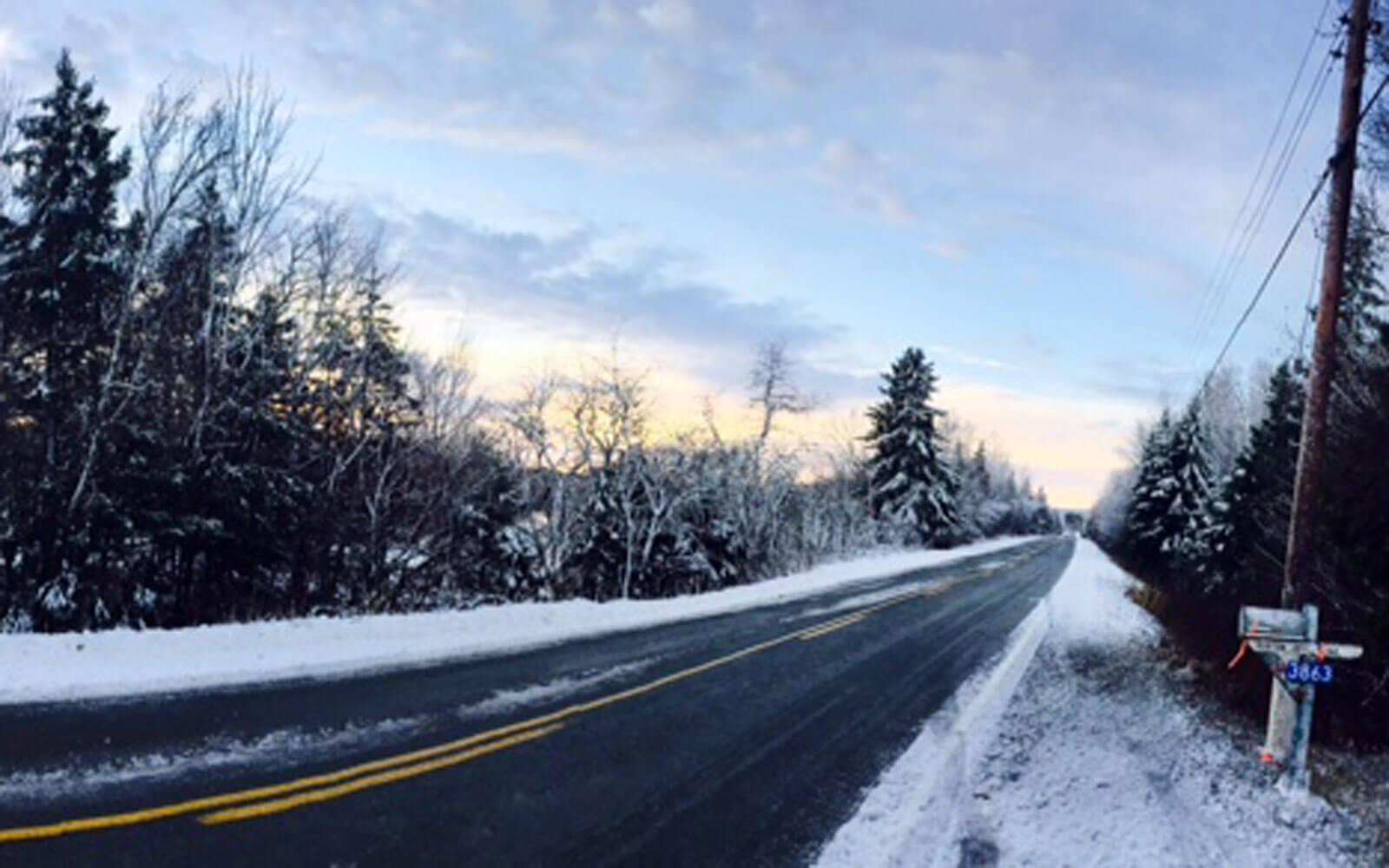 Winterliches Kanada