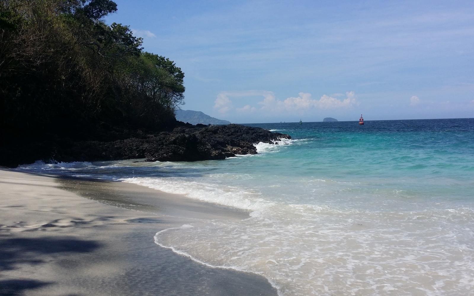 Paradiesischer Strand auf Bali