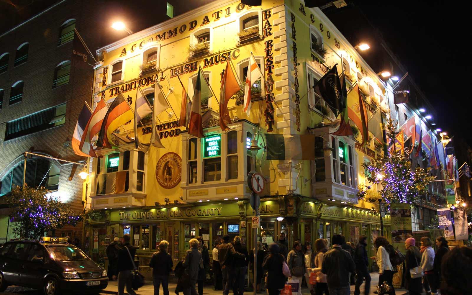 The Olivers St. John Gogarty Bar in Dublin