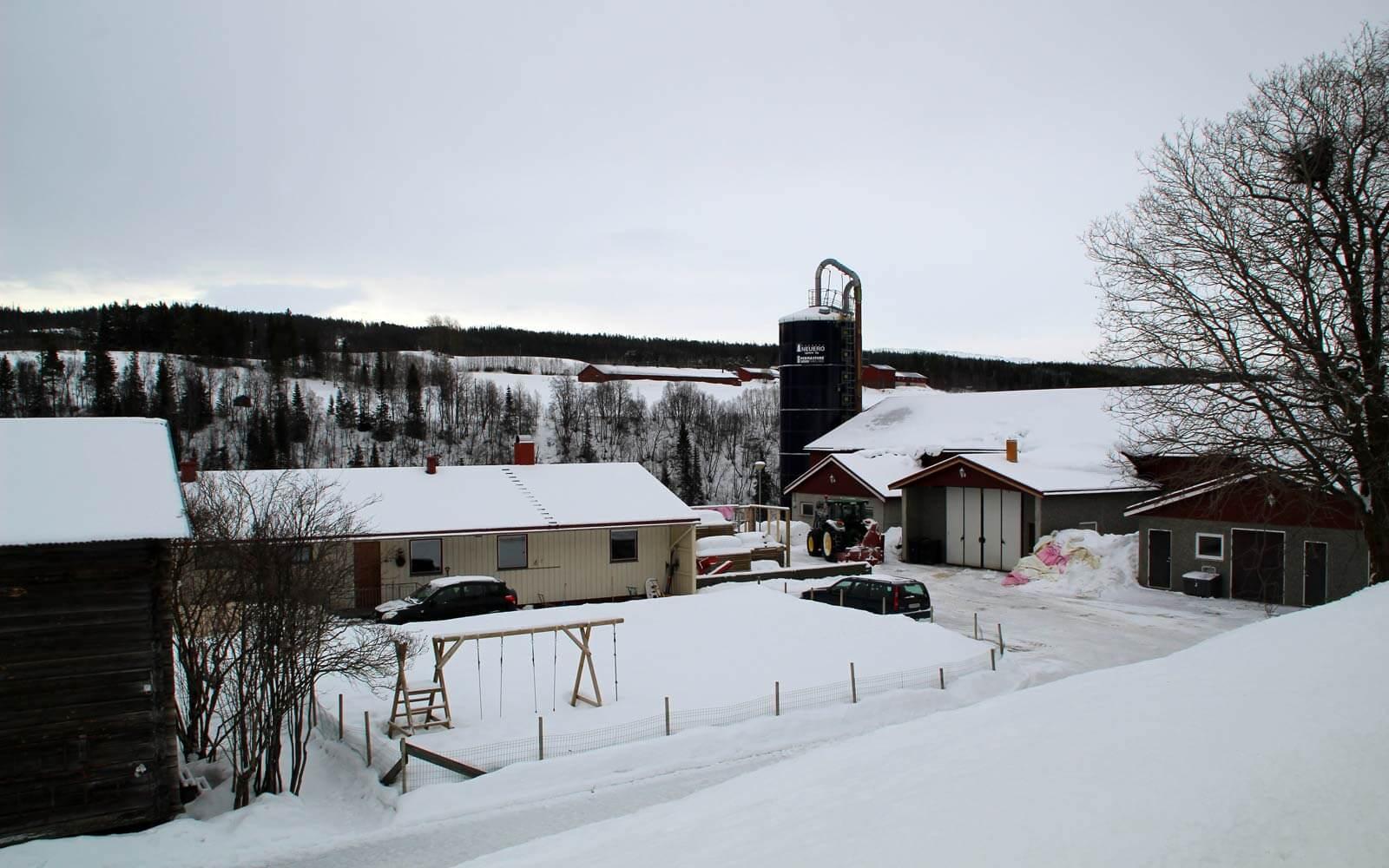 Hof und Haus in Norwegen