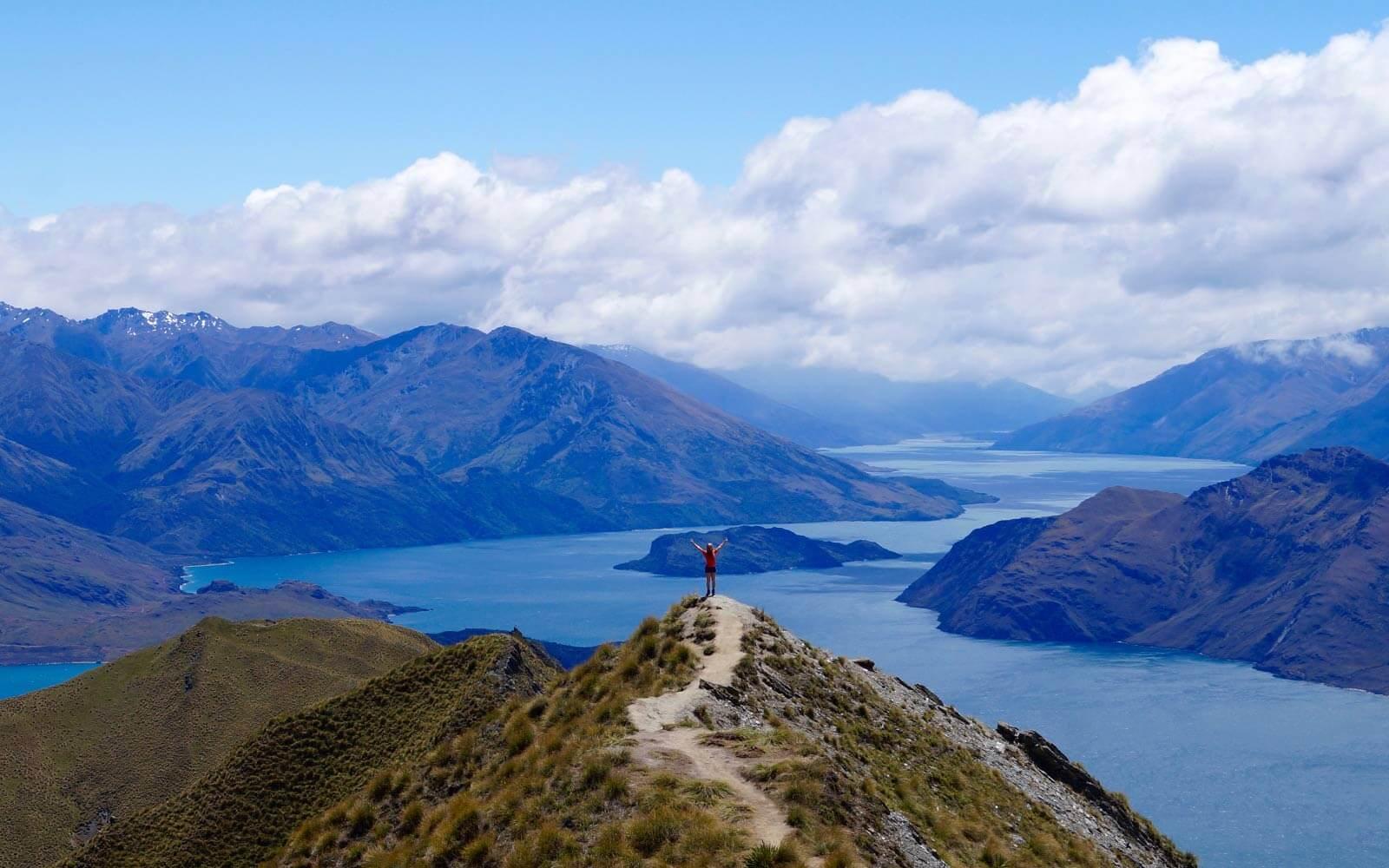 Roys Peak in Neuseeland
