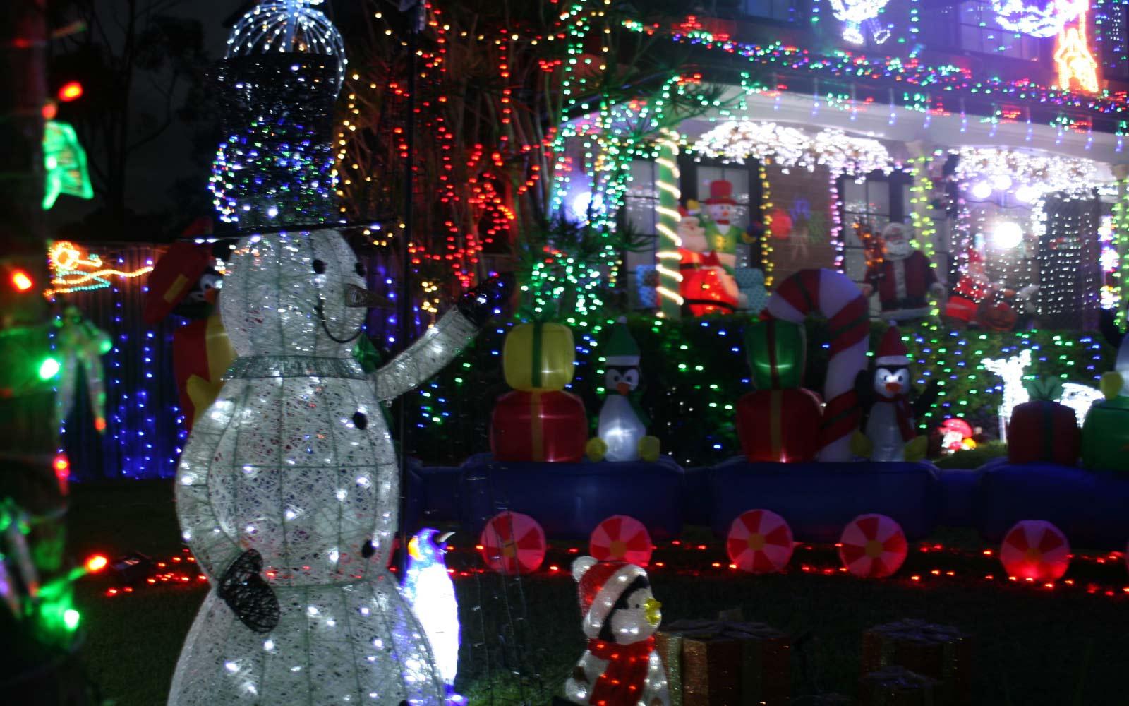 Weihnachtsdeko in Australien