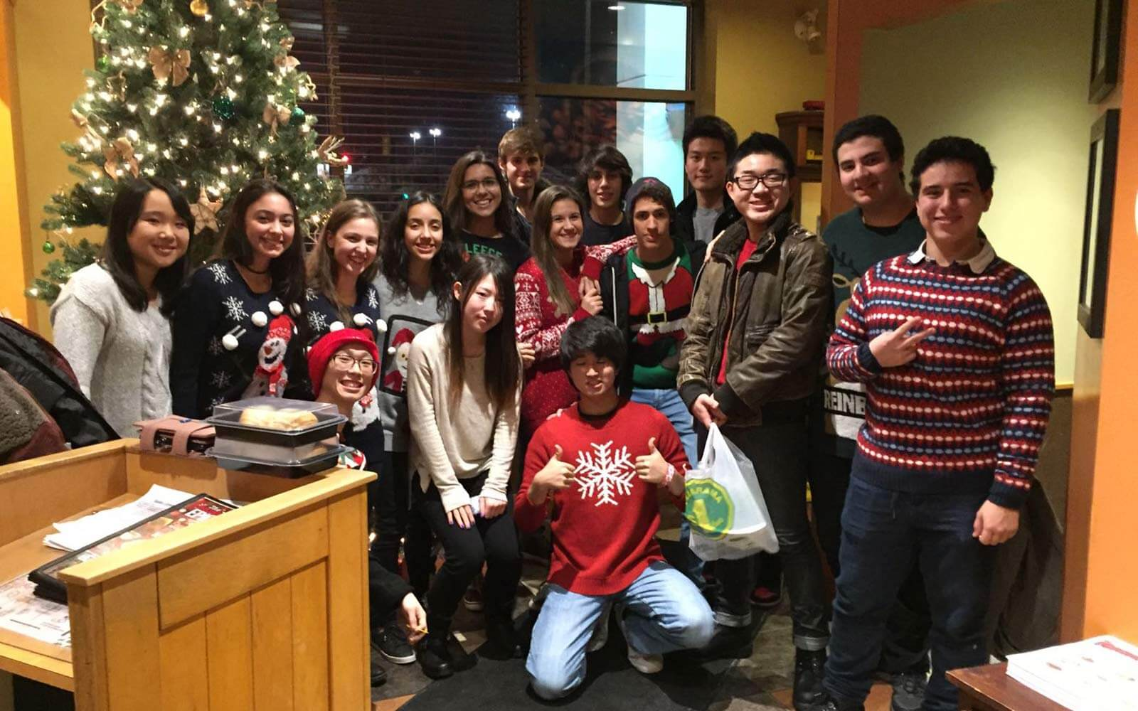 Weihnachtsfeier der International Students in Nova Scotia
