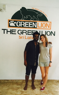 Volunteer Coordinator Jessica bei Green Lion in Sri Lanka