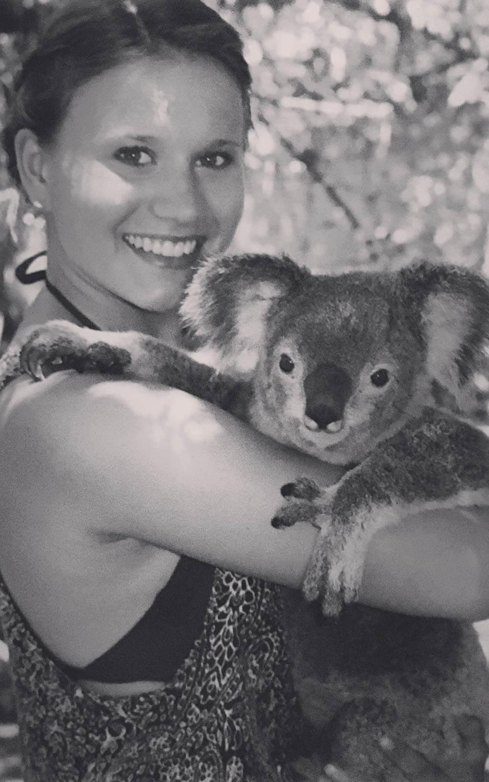 Kora mit Koala