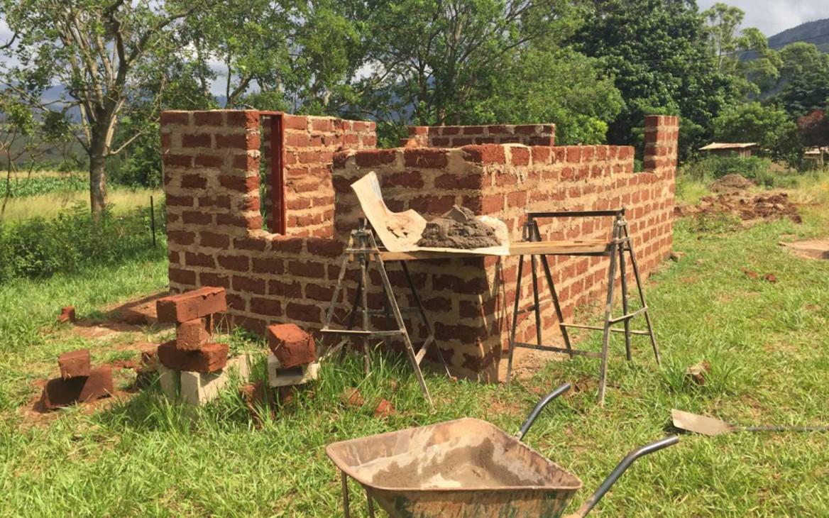 Freiwilligenarbeit Swasiland: Kim im Projekt »Build a Future«