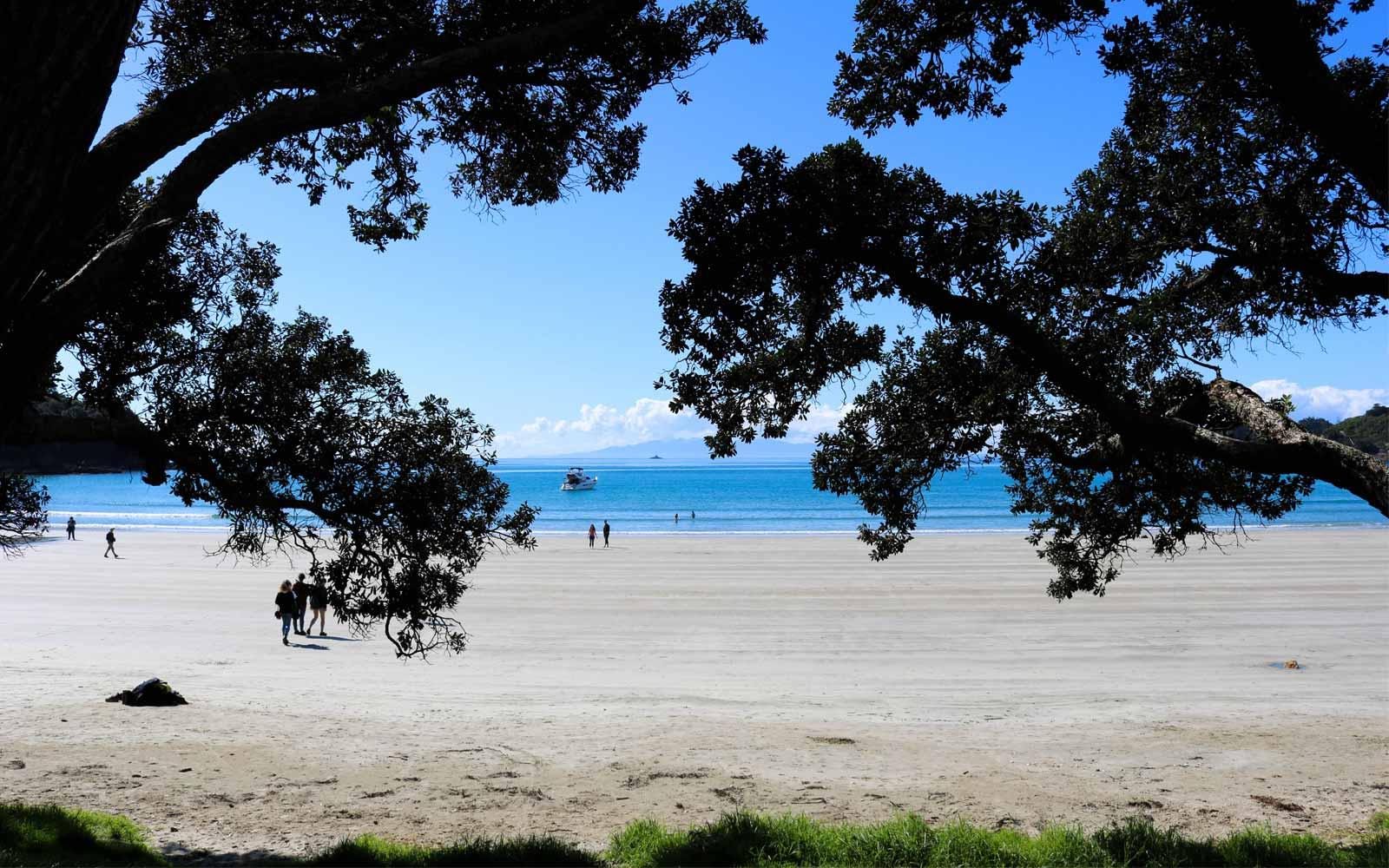 Neuseeländischer Strand