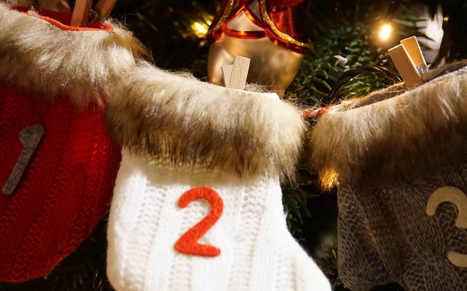 Socken mit Nummern