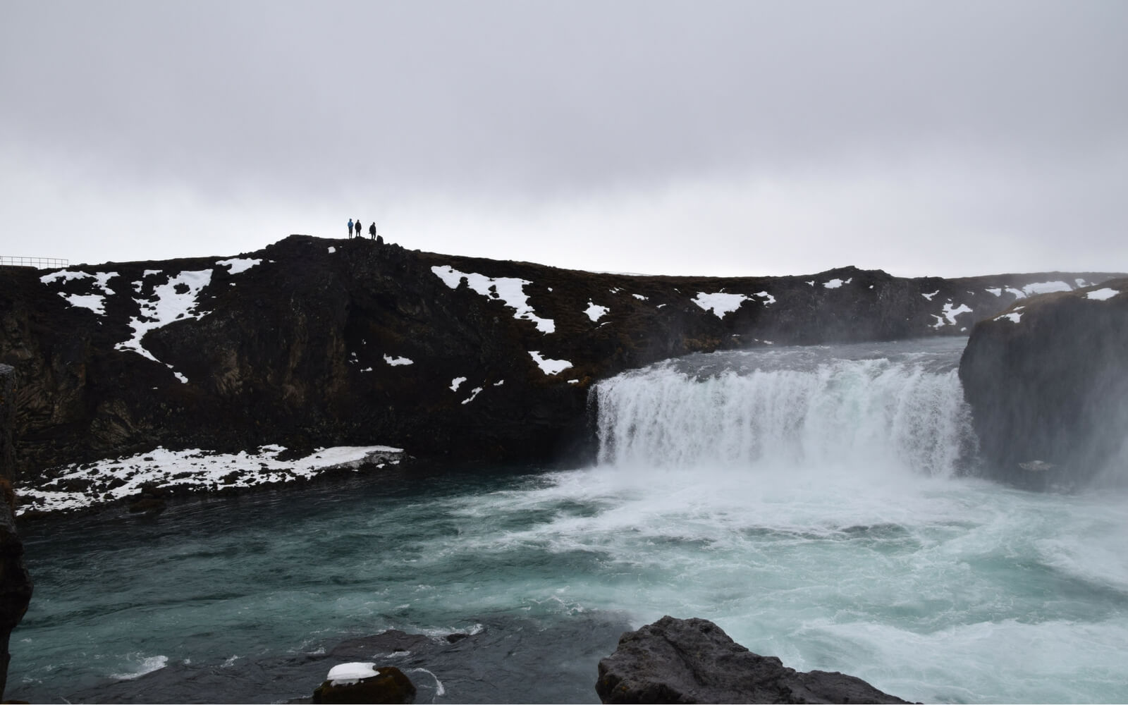 Blaue Quellen in Island