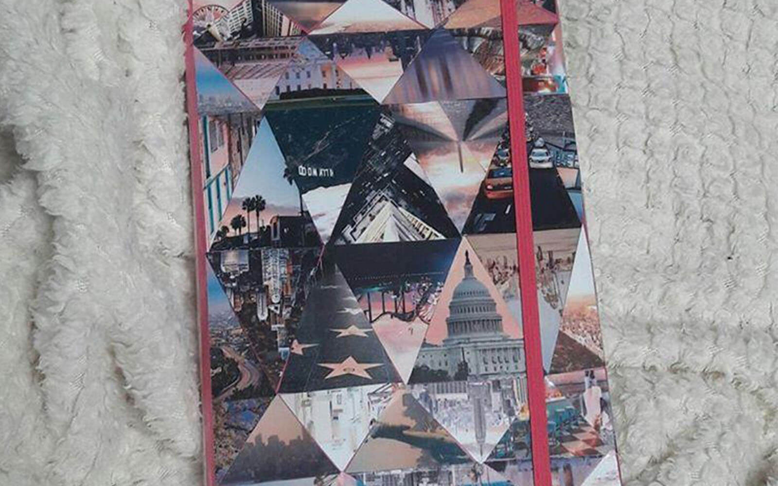 Cover eines USA Abschiedsbuches