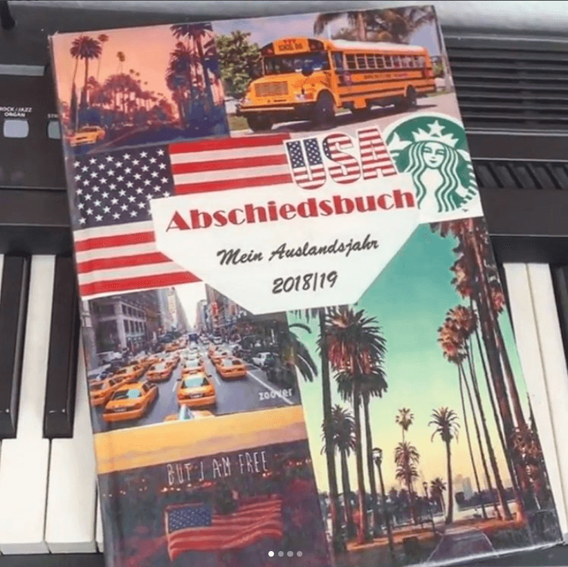 Das Cover eines USA Abschiedsbuches