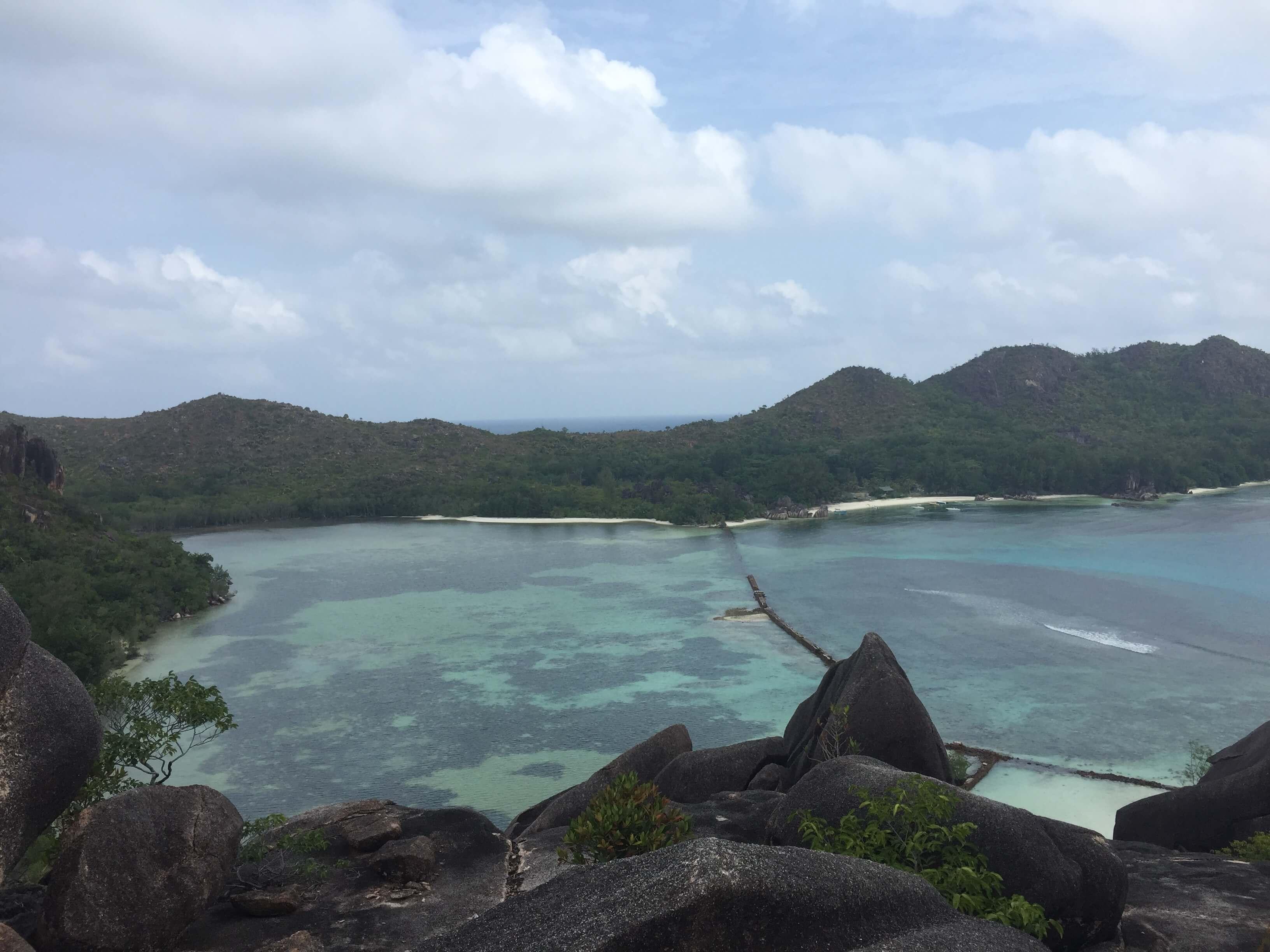 Meer auf den Seychellen