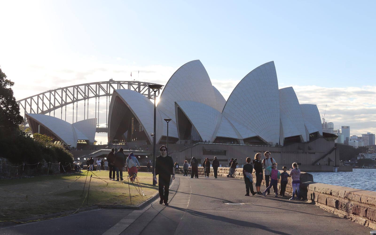 Schüleraustausch Australien: Blick auf das Sydney Opera House