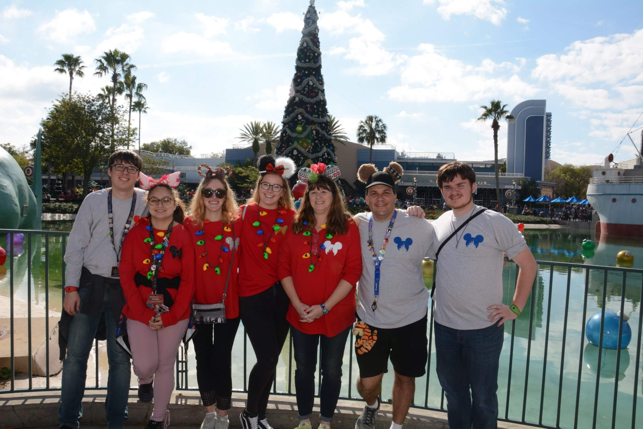 Familienweihnachten in Disney World
