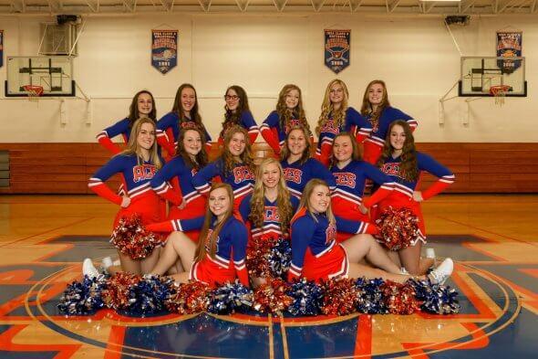 Mein Cheerleading-Team
